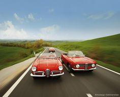 Alfa Romeo Spider 2600 GTC, Giulia & Giulietta Spider in der Toskana   Nostalgic Oldtimerreisen