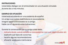 스페인어시험 DELE B1 회화파트 미리 보기! : 네이버 블로그 Learning Spanish, Learn Spanish, Study Spanish