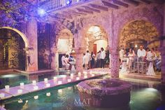 Perfect venue for this cocktail hour. #cartagena #wedding #cartagenaweddingplanner @mibodaencartagena