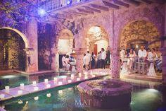 Perfect venue for this cocktail hour. #cartagena #wedding #cartagenaweddingplanner @mibodaencartagena
