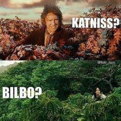 Bilbo and Katniss