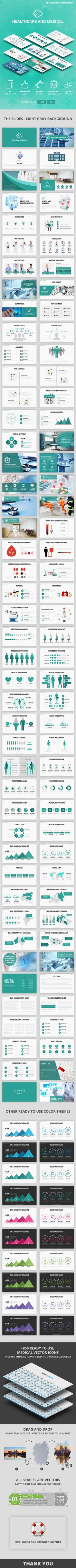 Healthcare and Medical 2 - Keynote Presentation Template by Spriteit Attract and impress your audience with this amazing, creative and modern presentation that contains the most useful Medical slides Professional Powerpoint Templates, Business Powerpoint Templates, Creative Powerpoint, Keynote Template, Powerpoint Presentations, Business Presentation Templates, Presentation Slides, Presentation Design, Web Design