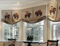39 Window Valance Curtain Ideas (From Custom Workrooms) Sidelight Windows, Blinds For Windows, Bay Windows, Box Pleat Valance, Valance Curtains, Window Valances, Drapery, Valances For Living Room, Living Rooms