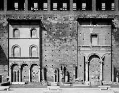 Castello Sforzesco, photography by Gabriele Basilico, 2012, in Milan, Italy.