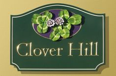 Clover Hill House Sign | Danthonia Designs