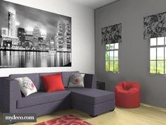 Black And White And Red Living Room brown and red living room | living room | pinterest | red living