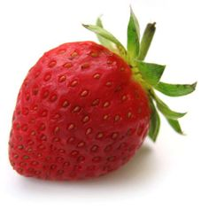 Did you know a strawberry is the only fruit which seeds grow on the outer side?