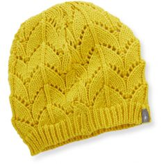 When the temperature dips, wear the women's SmartWool Crochet Hat and stay warm in style.
