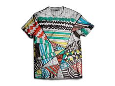Breaking Patterns by Ayush Bhambhani. Unisex poly-cotton blend t-shirt. You can find this and more awesome art at wearelions.org! Each purchase funds autism acceptance and awareness! #wearelions #roarloud