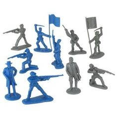 plastic civil war men - Google Search