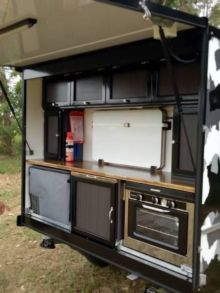 Awesome Ideas For Enclosed Cargo Trailer Camper Conversion . Enclosed Trailer Camper Conversion, Utility Trailer Camper, Enclosed Cargo Trailers, Cargo Trailer Conversion, Teardrop Camper Trailer, Off Road Camper Trailer, Camper Trailers, Travel Trailers, Trailer Build