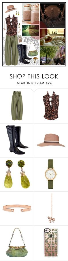 """gourmet hot chocolate"" by whimsical-angst ❤ liked on Polyvore featuring STELLA McCARTNEY, Gucci, Topshop, Skagen, Jemma Wynne, Estella Bartlett, Prada, Casetify and vintage"