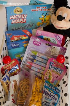 Great idea! Save money by buying Disney products before you head to #disneyland and store it in a cute box!