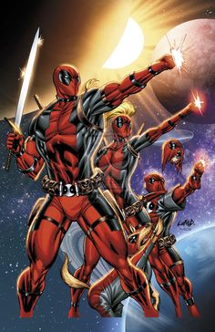 Deadpools by Greg Land