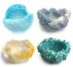 Pate de verre technique for firing glass bowls