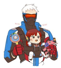 Soldier76 and D.va