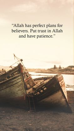 Allah has perfect plan for believers. Put trust in ALLAH and have patience. Inspirational Islamic Quotes in English with Beautiful Images Islamic Quotes In English, Islamic Love Quotes, Islamic Inspirational Quotes, English Quotes, Islamic Wallpaper, Allah Wallpaper, Girl Wallpaper, Religion Quotes, True Religion