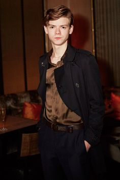 Thomas Brodie-Sangster attends InStyle's EE Rising Star Party on February 5, 2016