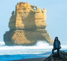 Kathy 12 Apostles Great Ocean Road Victoria Australia #straya #australia #greatoceanroad #Victoria #12apostles #travel by shannon_aston