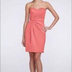 246e757893c David s Bridal Mercury Satin Formal Bridesmaid Mob Dress Size 10 (M) off  retail