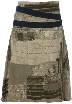 Shop for Vintage Printed skirt by Jean Paul Gaultier at ShopStyle. Now for Sold Out.
