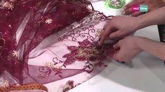 Come applicare un inserto in tulle a un abito - I tutorial di Re-fashion...