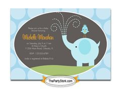 baby shower invitations for boys - Google Search