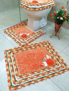 While working on some crochet projects suddenly an idea got stuck to my mind, and this idea was about the crochet bathroom set patterns. By the bathroom set I meant the traditional mats that are kept usually around and inside the bathroom that is meant to keep away the dust and stains. These mats are …