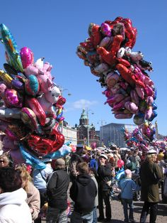 Vappu / of May in Helsinki, Finland. Finland Culture, Walpurgis Night, Native Country, Nordic Living, Spring Festival, Spring Is Here, My Land, May 1, My Heritage
