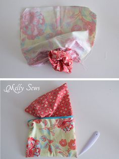 Sep 6 - How to Sew a Zipper Pouch - 15 minute sewing project - Melly Sews