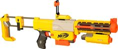 Never too old for a Nerf gun.