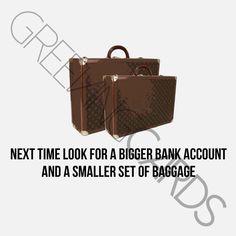 sympathy: baggage. – Greeving Cards