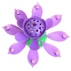 These candles are SO COOL! Take your birthday parties to the next level with this Blooming Musical Candle! This amazing, lotus, flower candle plays the birthday song and opens up, as if blooming, into a beautiful flower. The candle starts off as a close Magic Birthday, Birthday Songs, Happy Birthday Parties, Flower Birthday, 4th Birthday, Birthday Menu, Birthday Images, Old Candles, Best Candles