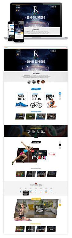 Especial Juegos Olimpicos on Behance