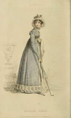 Walking Dress - 1820