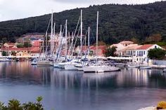 Fiskardo,Kefalonia Sailing boats in the Harbour