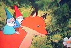 David the Gnome, his wife Lisa and Swift the Fox.  My FAVE show when I was little.  Nick Jr.