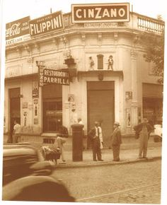 Very Vintage Buenos Aires. Restaurant Interior Design, Baja California, Tango, Mexico City, Geography, Cool Pictures, Street View, Black And White, History