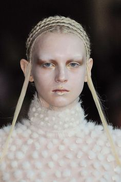 A is for Alexander McQueen by Sarah Burton: Paris Fall 2014 - details