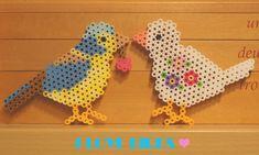 Birds perler beads by moonstar1206