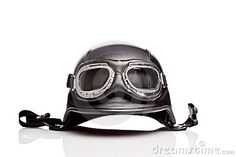 Military style flight motorcycle helmet
