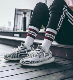 Yeezy 350 Zebra Men 7 to *Prices are subject to change without prior notice We Deliver Nationwide! Century City Mall Makati 7792254 NBS Mall Panay Ave Q. Yeezy Outfit, Hype Shoes, Yeezy Shoes, Mode Style, Boys Shoes, Streetwear Fashion, Mens Fashion, Fashion Trends, Sneakers Fashion