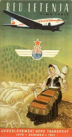 JAT – Yugoslav Airlines 1951