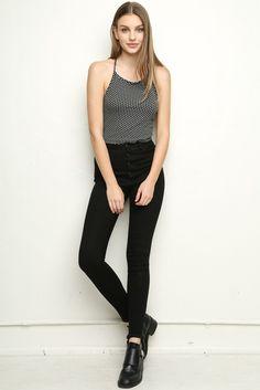 Brandy ♥ Melville   Sachi Halter - Tanks & Halters - Tops - Clothing