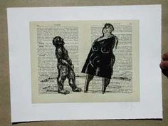 William kentridge contemporary african prints