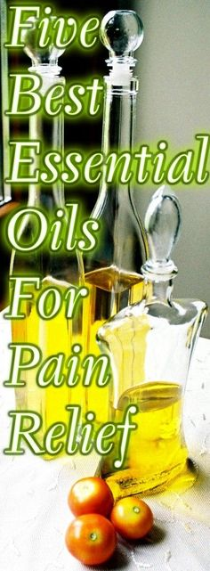 Five Best Essential Oils For Pain Relief