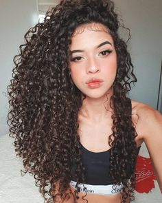 Grace Fantasy Premium Quality Long Curly Synthetic Lace Wigs Black Hair Curly Wig for African Americans Curly Lace Front Wigs, Curly Wigs, Long Curly Hair, Curly Hair Styles, Natural Hair Styles, Deep Curly, Hair Wigs, Synthetic Lace Wigs, Tumblr Boys