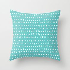 Cloud Nine Creative - Turquoise Dash Cushion