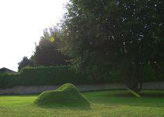 Terra 2.0. Un sillón de césped que crece en tu jardín - Mil Ideas de Decoración  #jardinería