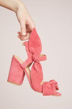 Slide View: 5: Bill Blass Carmen Block Heels